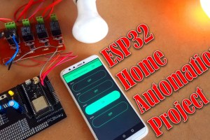 ESP32 Home Automation