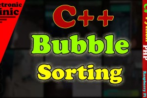 bubble sort