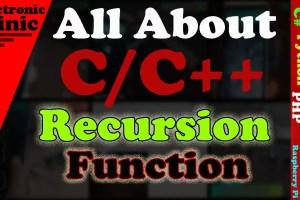 recursion in c