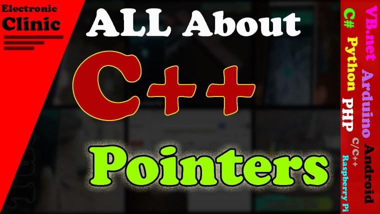 C++ Pointers