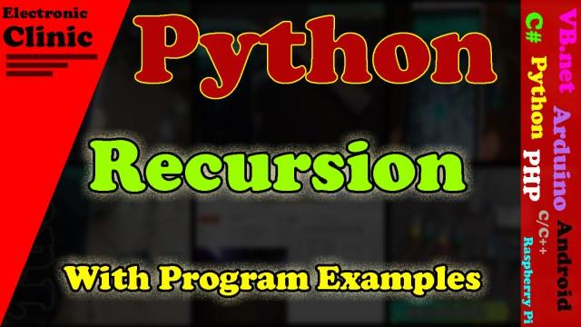 Python Recursion