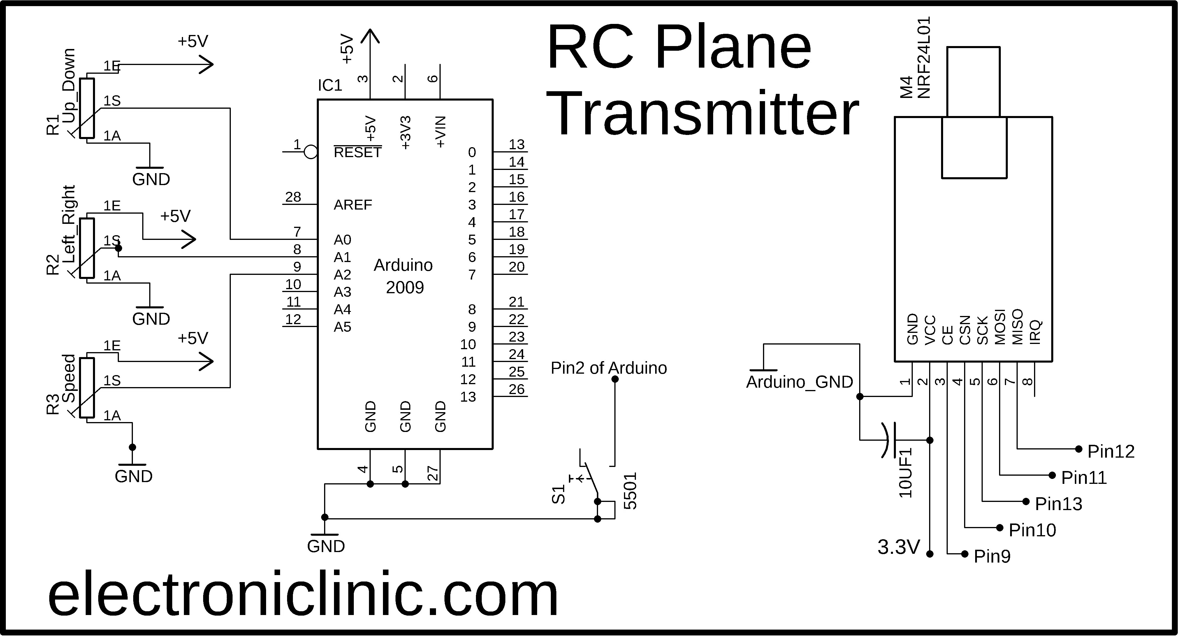 How To Make Rc Plane With Arduino And Nrf24l01