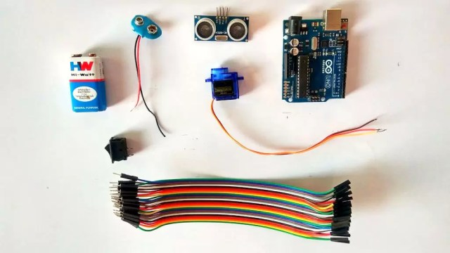 Smart Dustbin Using Arduino