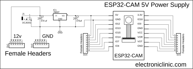 ESP32 Camera Module