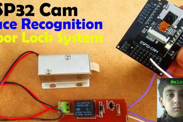 ESP32 CAM Face Recognition