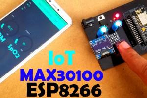 Max30100 ESP8266 Nodemcu