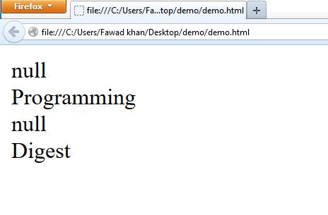 string javascript object