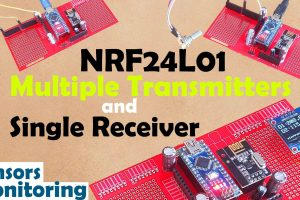 NRF24L01 Multiple Transmitters
