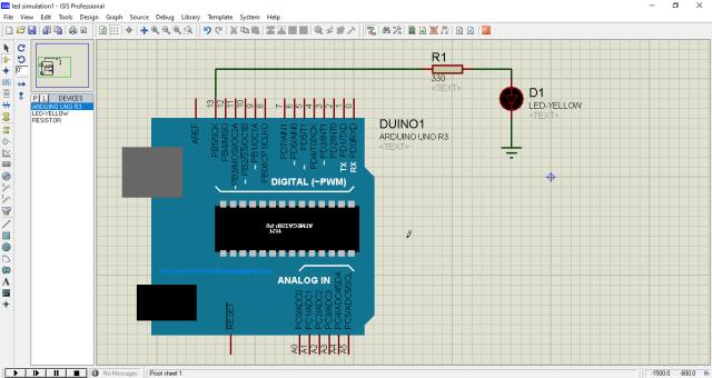 Arduino Proteus