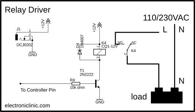 Arduino Relay Control
