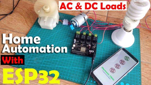 home automation esp32