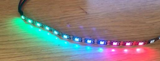 Arduino WS2812B LED Strip
