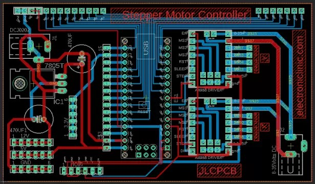 Control Position and Speed of Stepper Motor