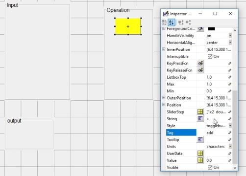 GUI in Matlab