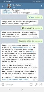 BotFather Telegram