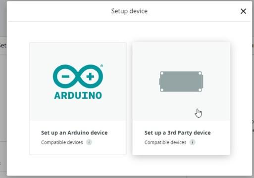 Arduino IoT Cloud ESP32