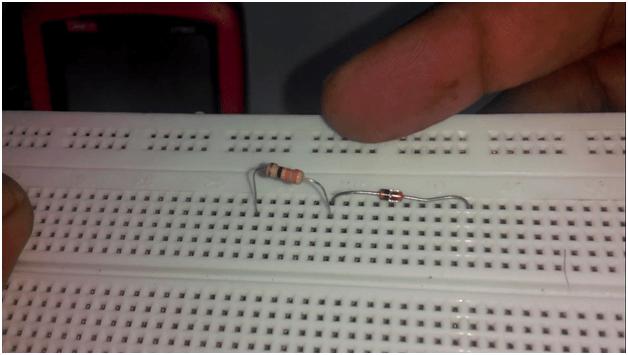 Figure 2 Zener Diode Overvoltage Protection Circuit