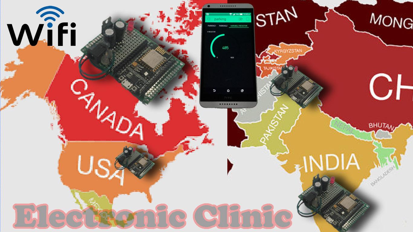 Multiple Nodemcu esp8266 network monitoring using Blynk