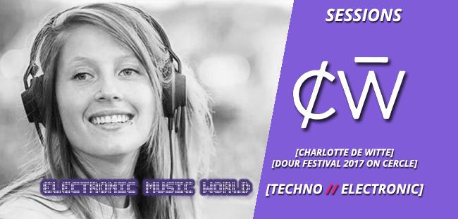 SESSIONS: Charlotte de Witte – Dour Festival 2017 on Cercle