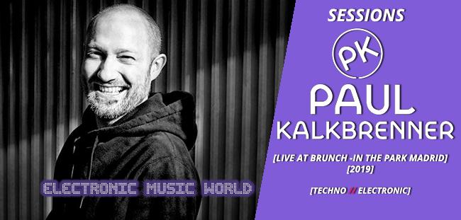 SESSIONS: Paul Kalkbrenner – Live at Brunch in the Park Madrid (20 oct 2019)