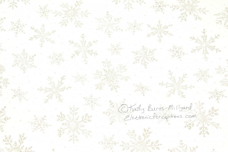 Burgundy Background Snow Flakes