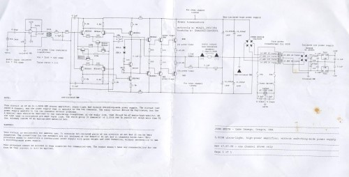 small resolution of 5000w ultra light high power amplifier electronics lab ahuja amplifier circuit diagram download download amplifier circuit diagram