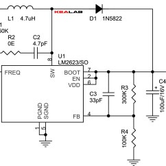 12vdc To 12vac Converter Circuit Diagram Bostitch Air Compressor Parts 2 4v 5v Step Up Dc Electronics Lab