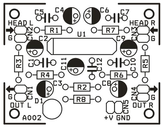 tape head pre amplifier