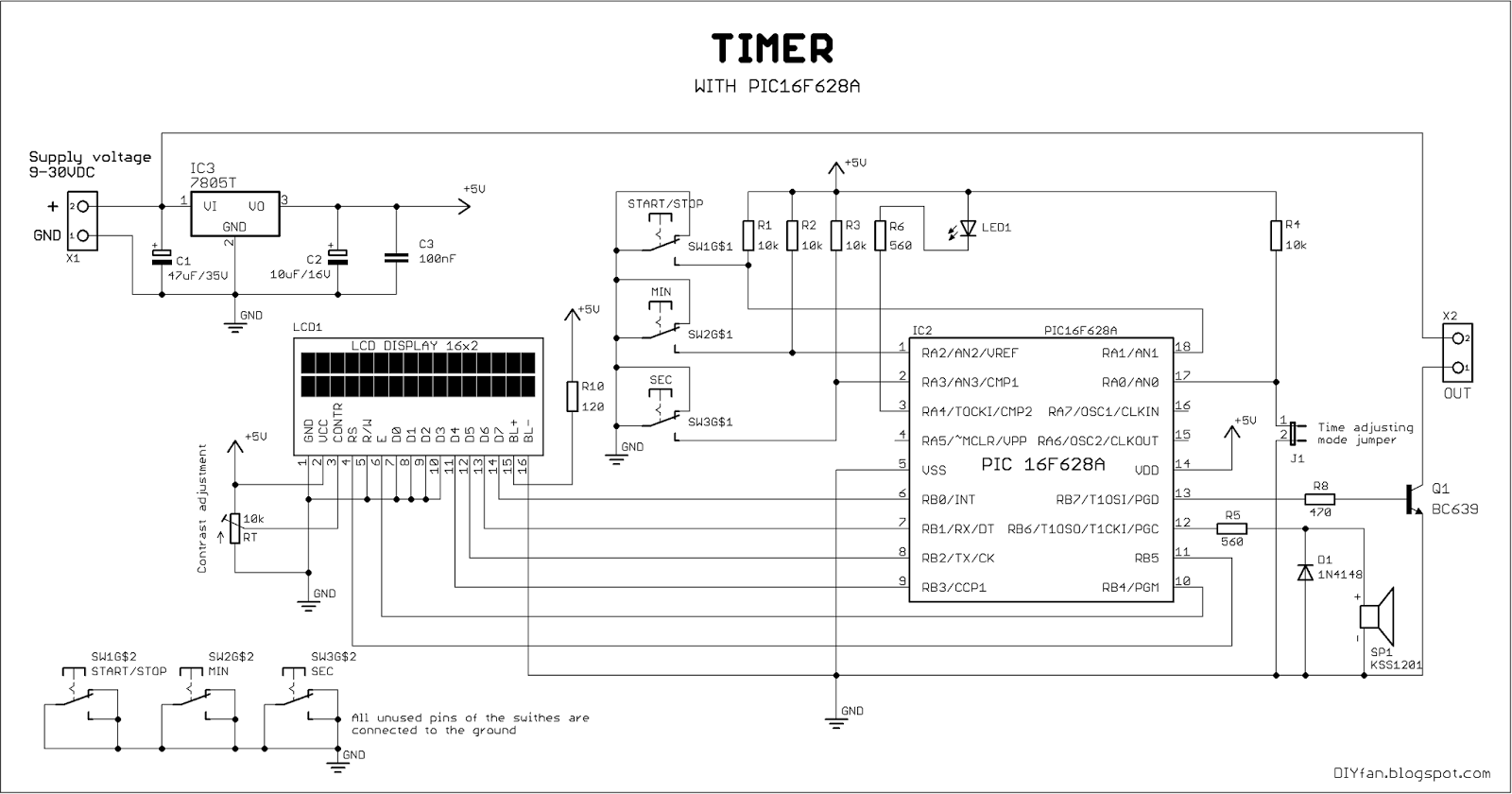 hight resolution of block diagram of ra5 pin electronic circuits and diagram wiring block diagram of ra5 pin electronic circuits and diagram