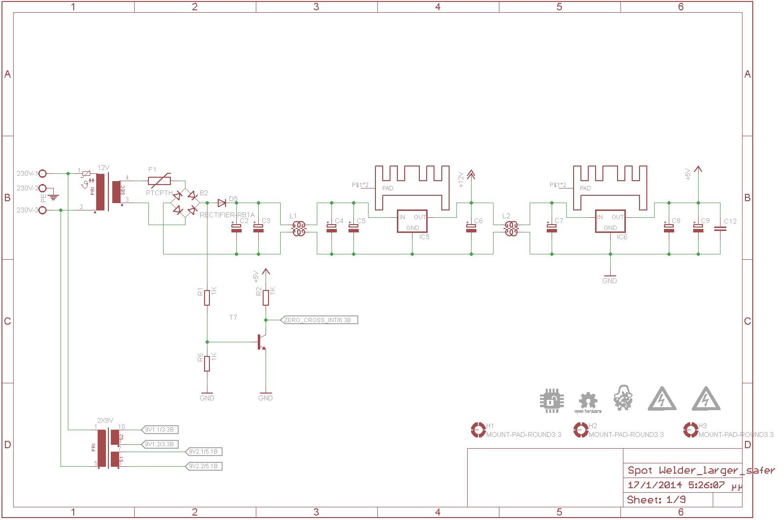 hight resolution of power supply sch