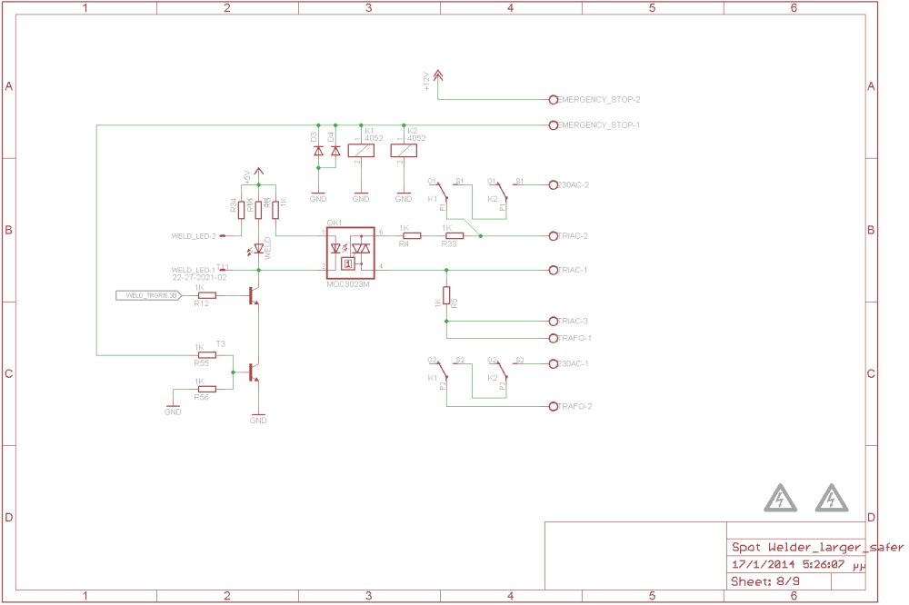 medium resolution of weld transformer controll