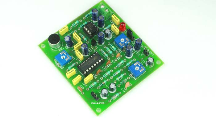 Echo Chamber Robot Voice Effect Circuit Diagram