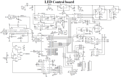 small resolution of led board schematic wiring diagram load led display board diagram led board diagram