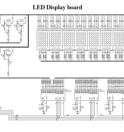 download led display kit circuit diagram wiring diagram for you dot matrix led running display v2 [ 1166 x 737 Pixel ]