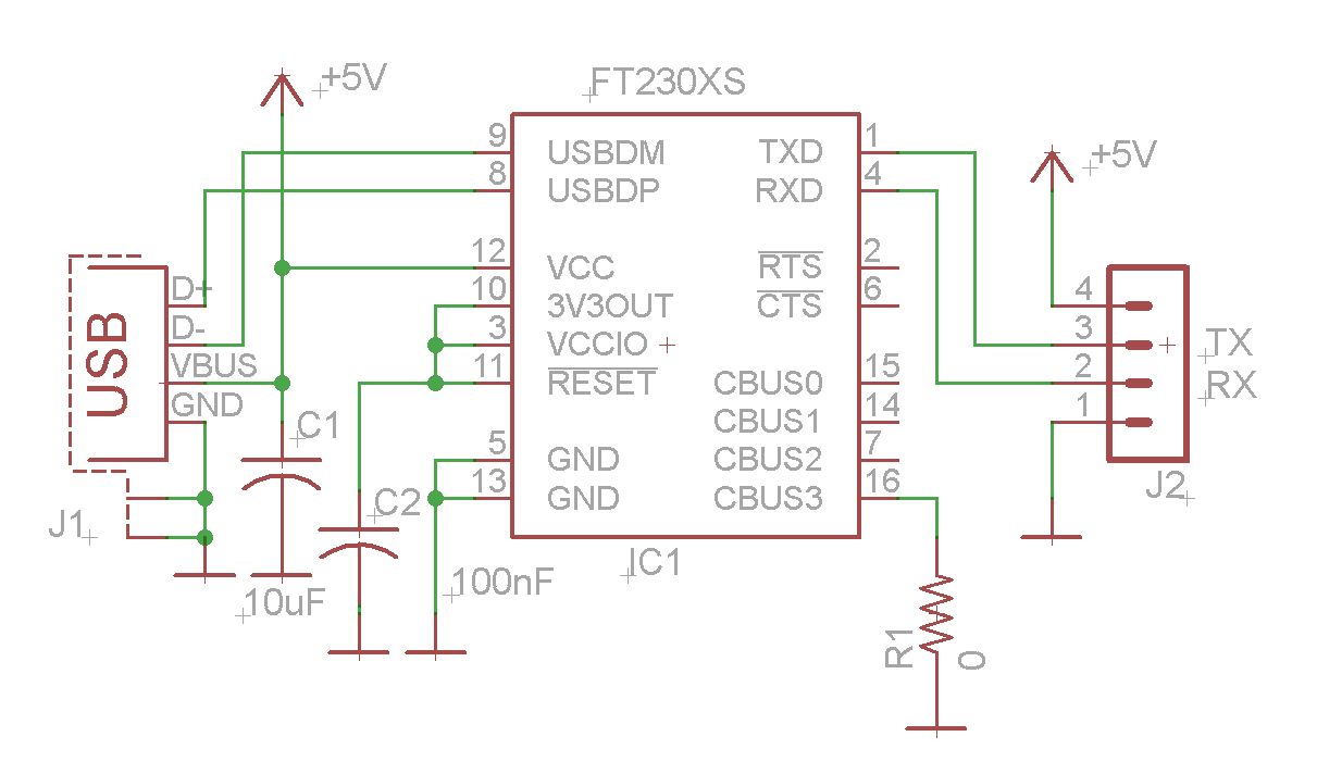rs232 to rs485 converter circuit diagram relb 2s40 n wiring usb serial using ftdi ft230x - electronics-lab