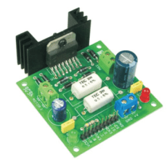 L298 H Bridge Circuit Diagram Wilkinson Humbucker Pickups Wiring Dual Motor Control Electronics Lab Project Can Two Dc Motors Connected To It The Has Been Designed Around Popular From St