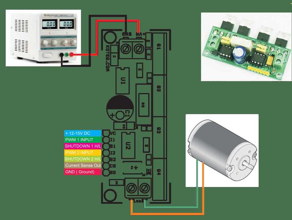 l298 h bridge circuit diagram 1995 honda civic distributor wiring dc motor ir2104 electronics lab