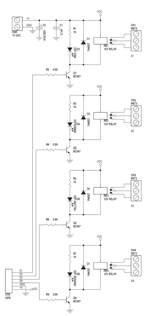 24 volt relay wiring diagram 5 1 surround sound setup 4 channel board electronics lab schematic