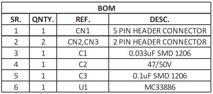 5A-H-Bridge-Module-using-MC33886-BOM