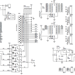 5 Axis Cnc Breakout Board Wiring Diagram Car Stereo Parallel Port With Buffer For & Routers - Electronics-lab