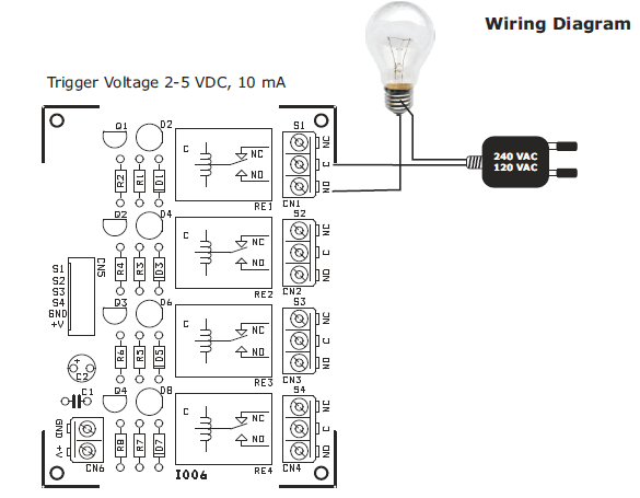 simple trailer lights wiring diagram