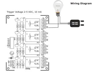 4 Channel Relay Board  ElectronicsLab