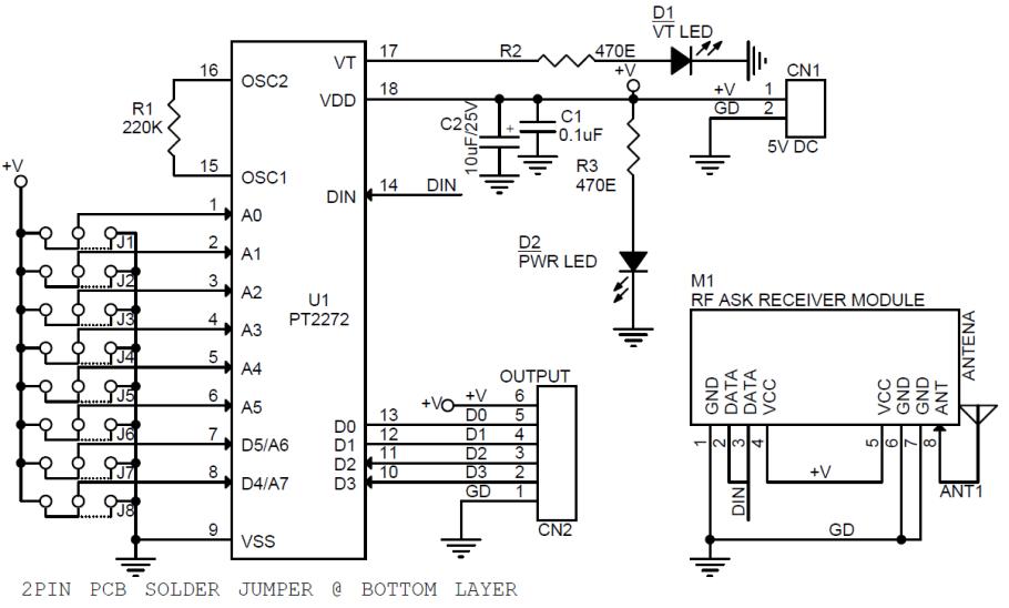 4-Channel-RF-Remote-Controller-RX-SCHEMATIC