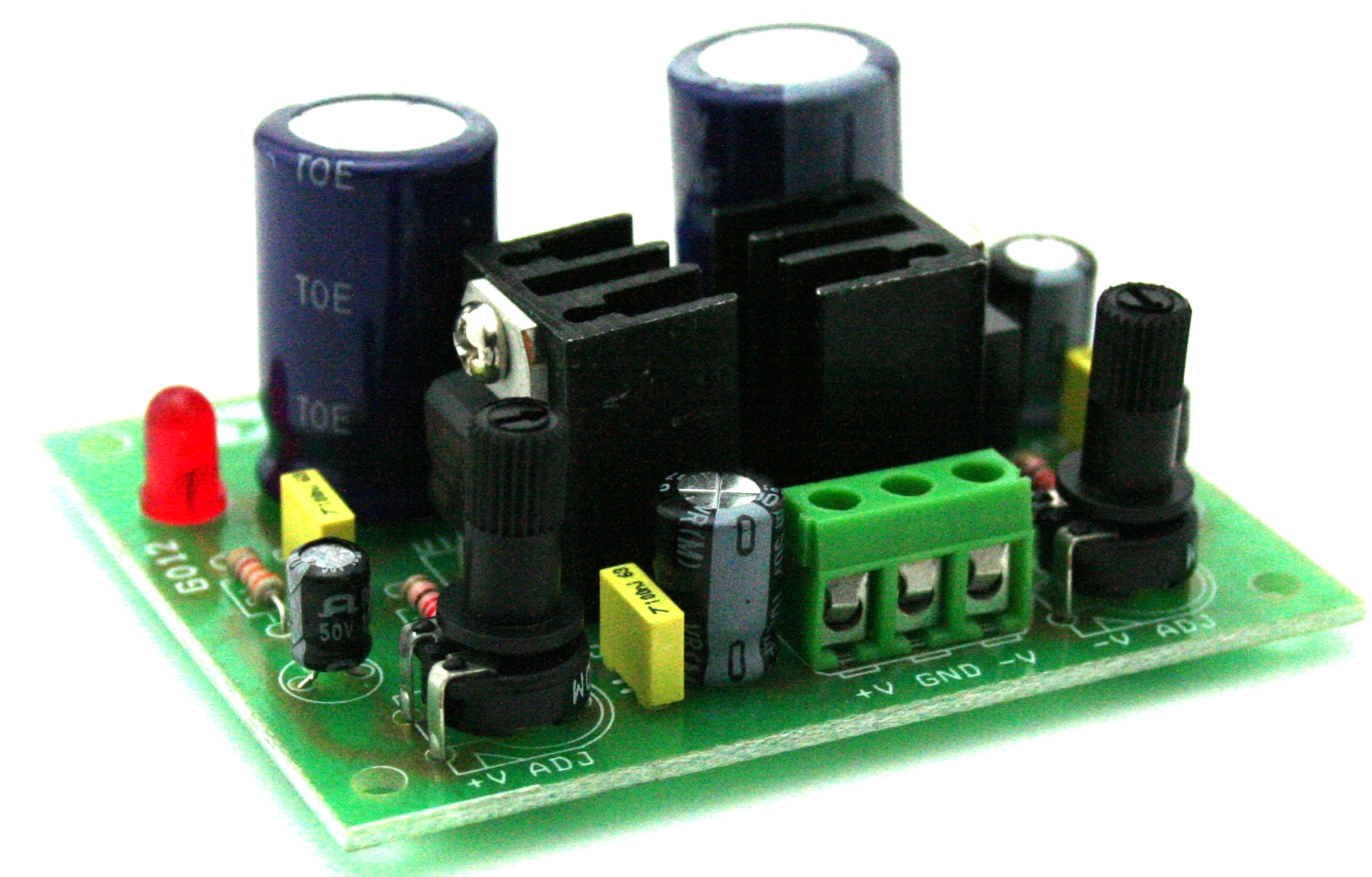 Dual Adjustable Power Supply Circuit