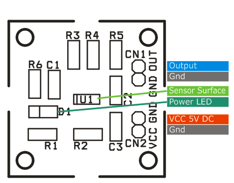 Magnetic-field-sensor-connections