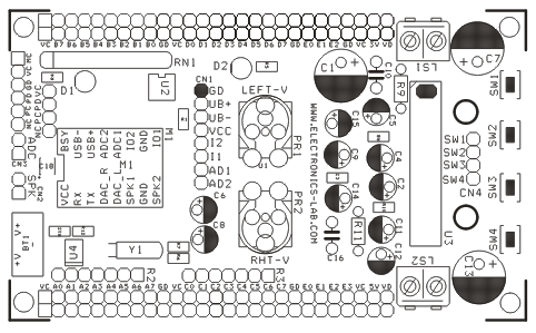 MP3 Module & RTC DS1307 Shield For 28/40 Pin PIC