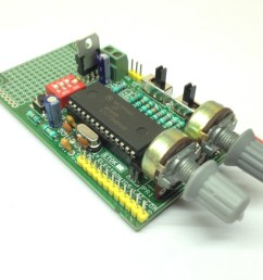 the project generates 6 pwm signals for 3 phase ac motor controller it s very easy to make professional vfd combining with intelligent power module ipm  [ 1024 x 768 Pixel ]