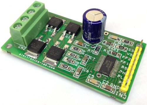 Bidirectional H Bridge Dc Motor Motion Controller