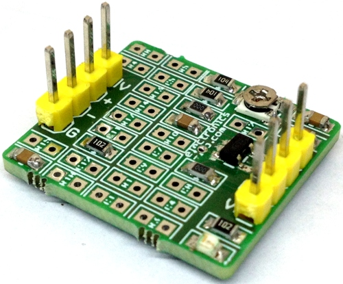 Universal Tester Circuit With Vcovoltage Controlled Oscillator