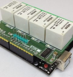 4 channel relay shield for arduino uno is a simple and convenient way to interface 4 relays for switching applications in your project  [ 1024 x 857 Pixel ]